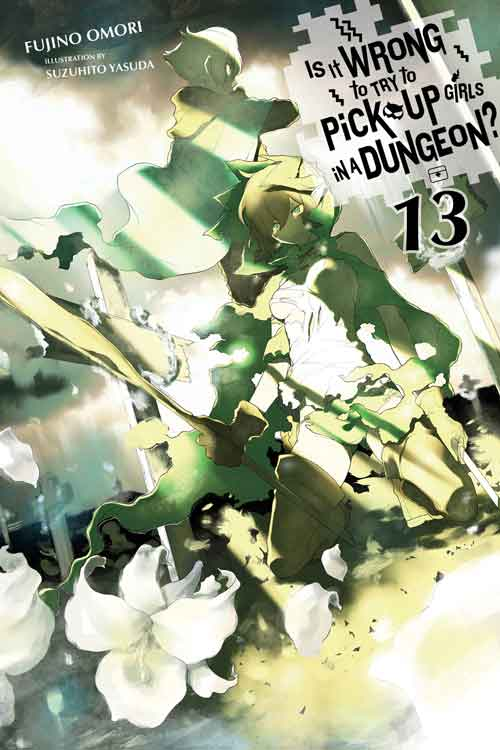 Is it wrong to pick up Girls in a Dungeon volume 13 cover